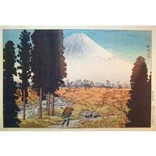 Shotei Takahashi: Fuji from Gumisawa - Japanese Art Open Database