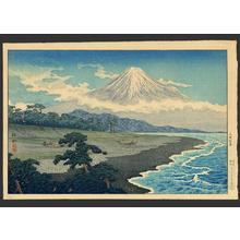 Shotei Takahashi: Fuji from Miho no Matsubara - Japanese Art Open Database