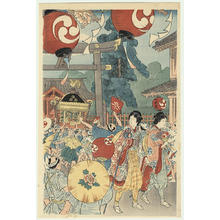 Shotei Takahashi: Kanda Matsuri - Japanese Art Open Database