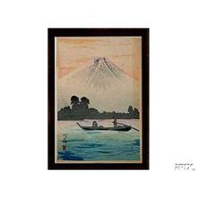 Shotei Takahashi: Lake Kawaguchi - Japanese Art Open Database