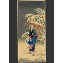 Shotei Takahashi: M35- Spring Snow - Japanese Art Open Database