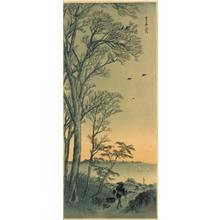 Shotei Takahashi: M90- Morning at Kasumigaura - Japanese Art Open Database