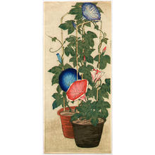 Shotei Takahashi: Morning Glories - Japanese Art Open Database
