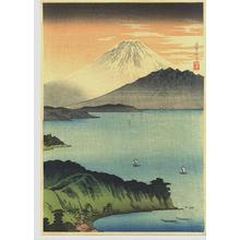 Shotei Takahashi: Mt Fuji and Lake Yamanaka - Japanese Art Open Database