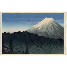 Shotei Takahashi: Mt Fuji from Hakone — 箱根 - Japanese Art Open Database