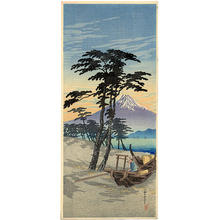 Shotei Takahashi: Mt Fuji from Miho - Japanese Art Open Database
