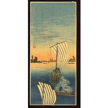 Shotei Takahashi: Nagareyama - Japanese Art Open Database