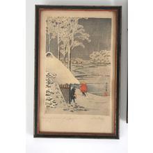 Shotei Takahashi: Night Snow at Ikegami - Japanese Art Open Database