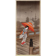 Shotei Takahashi: Returning from the Bath- Yugaeri — 湯帰り - Japanese Art Open Database