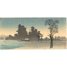 Shotei Takahashi: S4- House on the river - Japanese Art Open Database