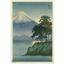 Shotei Takahashi: S-13- Fuji from Fujisaki - Japanese Art Open Database