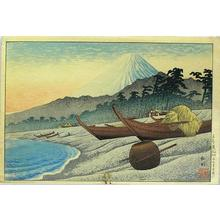 Shotei Takahashi: Senbonhama Beach - Japanese Art Open Database