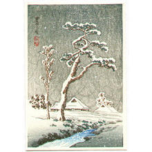 Shotei Takahashi: Snow in the Country - Japanese Art Open Database