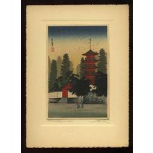Shotei Takahashi: Temple of Kinugasa - Japanese Art Open Database