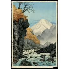 Shotei Takahashi: The Foothills of the Mountains, Ashitakayama- Autumn — 愛鷹山山・(秋) - Japanese Art Open Database