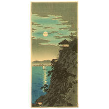 Shotei Takahashi: The Moon and Ishiyama - Japanese Art Open Database