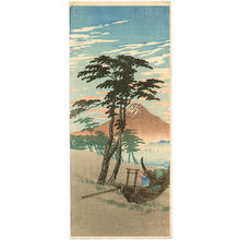 Shotei fake: Mt Fuji from Miho - Japanese Art Open Database