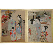 Yamamoto Shoun: Print 2 and 3 - Japanese Art Open Database