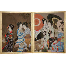 Yamamoto Shoun: Print 6 and 7 - Japanese Art Open Database