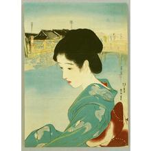 Shuho Yamakawa: A beauty in Shintomi-cho district - Japanese Art Open Database