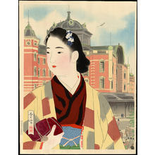 Shuho Yamakawa: The Tokyo Station At Present - Japanese Art Open Database