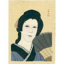 名取春仙: Actor watercolour 1 - Japanese Art Open Database