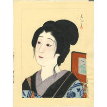 Natori Shunsen: Actor watercolour 2 - Japanese Art Open Database