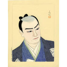 名取春仙: Actor watercolour 3 - Japanese Art Open Database