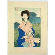 Natori Shunsen: Foundation Stone- Kuchie 1 - Japanese Art Open Database