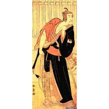 勝川春章: Ichikawa Danjuro VI in Sukeroku - Japanese Art Open Database