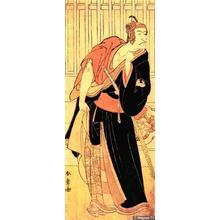 Katsukawa Shunsho: Ichikawa Danjuro VI in Sukeroku - Japanese Art Open Database