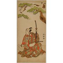 勝川春章: The Actor Arashi Sangoro II — 二世嵐三五郎 - Japanese Art Open Database