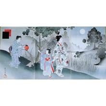 Miyagawa Shuntei: August — 其八 名月 - Japanese Art Open Database