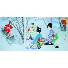 Miyagawa Shuntei: March — 其三 桜あそび - Japanese Art Open Database