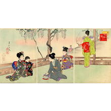 Miyagawa Shuntei: May — 其五藤見 - Japanese Art Open Database