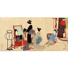 Miyagawa Shuntei: November — 其十一 嫁入 - Japanese Art Open Database