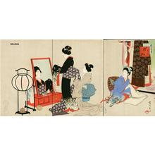 宮川春汀: November — 其十一 嫁入 - Japanese Art Open Database