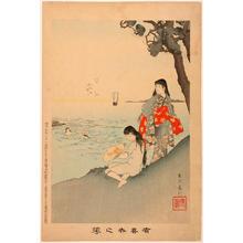 Miyagawa Shuntei: Sea Bathing — 海水浴 - Japanese Art Open Database