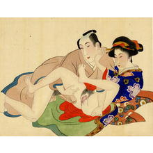 Miyagawa Shuntei: Shunga 1 - Japanese Art Open Database