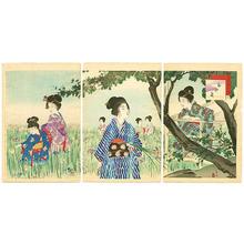 宮川春汀: Iris Garden - Japanese Art Open Database