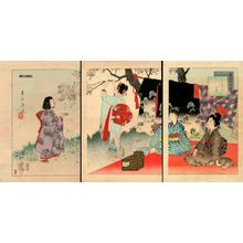 Miyagawa Shuntei: Picnic - Japanese Art Open Database