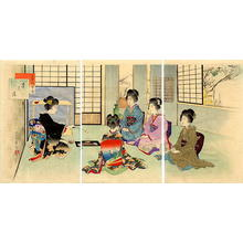 Miyagawa Shuntei: Tea Ceremony - Japanese Art Open Database