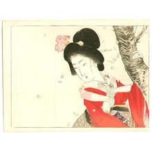 Suzuki Kason: Cherry Blossom Viewing — お花見 - Japanese Art Open Database