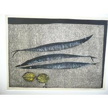 Kasamatsu Shiro: Fish and Lemons - Sanma to Lemon - Japanese Art Open Database