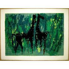 笠松紫浪: Horses - Japanese Art Open Database