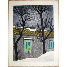 Kasamatsu Shiro: Winter Scene - Japanese Art Open Database
