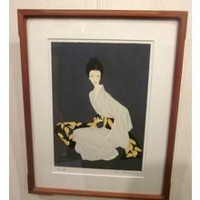 Takasawa Keiichi: A Woman in a Kimono — 着物の女性 - Japanese Art Open Database