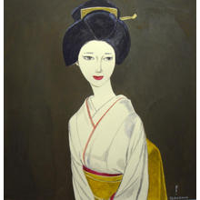 Takasawa Keiichi: Bijin portrait - Japanese Art Open Database