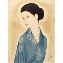 Takasawa Keiichi: Female Person - Japanese Art Open Database