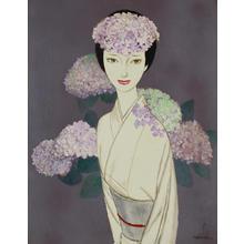 Takasawa Keiichi: Hydrangeas — あじさい - Japanese Art Open Database